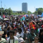 Diaspora Eritreans protest regime human rights abuses