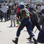 Anti-Mugabe protests turn violent in capital Harare