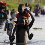 South Sudan famine: Eating water lilies to survive