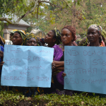 Women protest as Fulani herdsman rapes 70- year-old widow  to coma in Ebonyi