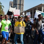 South Africans protest over violence against women
