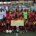 Hensen Demonstration School Benin lifts 2017 NNPC/Shell Cup
