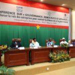 Le Burkina Faso ouvre la conférence « Gouvernance, Démocratie et Affaires » pour le renforcement du secteur privé dans la gouvernance démocratique en Afrique