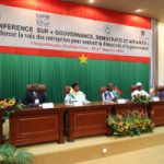 "Burkina Faso opens the Conference ""Governance, Democracy and Business"" calling for a strengthen role of the private sector in Africa's democratic governance"