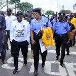 RedAce, Ambode, Others walk to end Sexual, Domestic Violence.