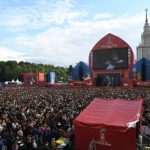 25,000 people visit Moscow's FIFA Fan Fest and kick off festival of football in Russia