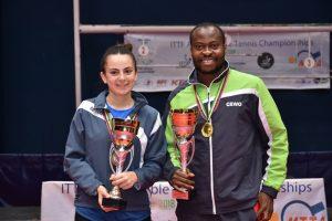 Aruna, Meshref are African Champions