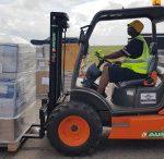 L'équipe d'intervention en cas de catastrophe du Groupe Deutsche Post DHL met fin à son premier déploiement en Afrique après avoir traité près de 800 tonnes de marchandise