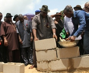 2013 Boro Day Celebration: Gov Dickson lays foundation stone for Adaka Boo Memorial Institute
