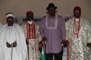 Shehu of Borno, Eze Ilomuanya, Gov Dickson
