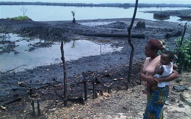 Shell begins Negotiation with Nigerians over Devastating Spill