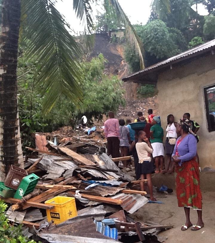 Landslide: We warned residents against putting up structures in a ravine – SEMA