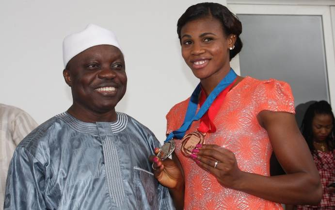 Delta Honours Okagbare, Prepares Star for 2016 Olympic Gold