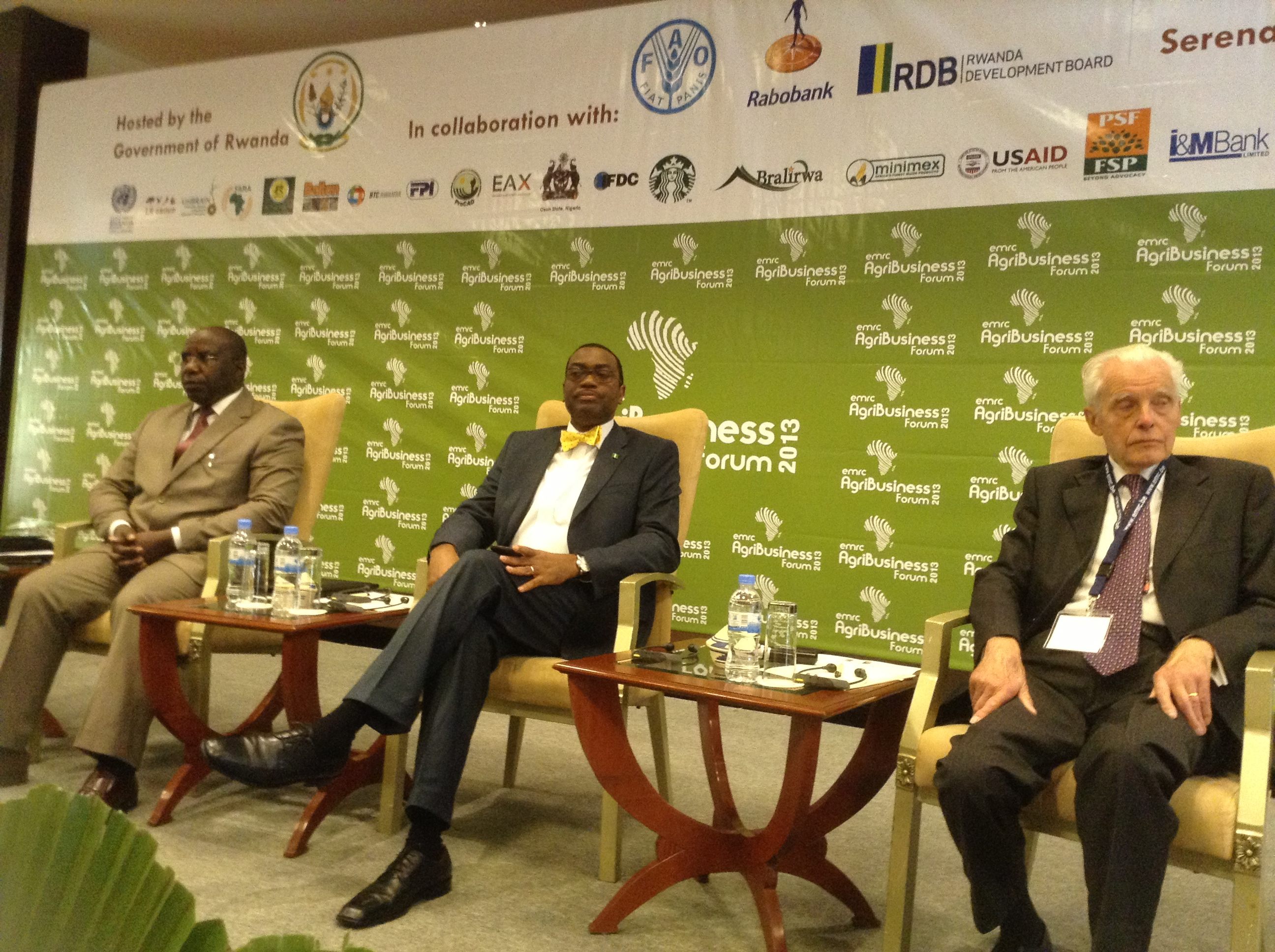 Nigeria's Agriculture Minister Graces The 2013 AgriBusiness Forum in Rwanda