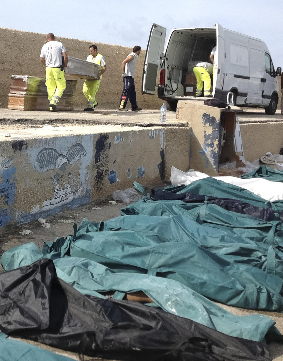 94 Dead, 200 Unaccounted for after Migrants'-laden Ship Capsizes off Italian Island