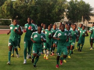 The all-conquering Eaglets at training