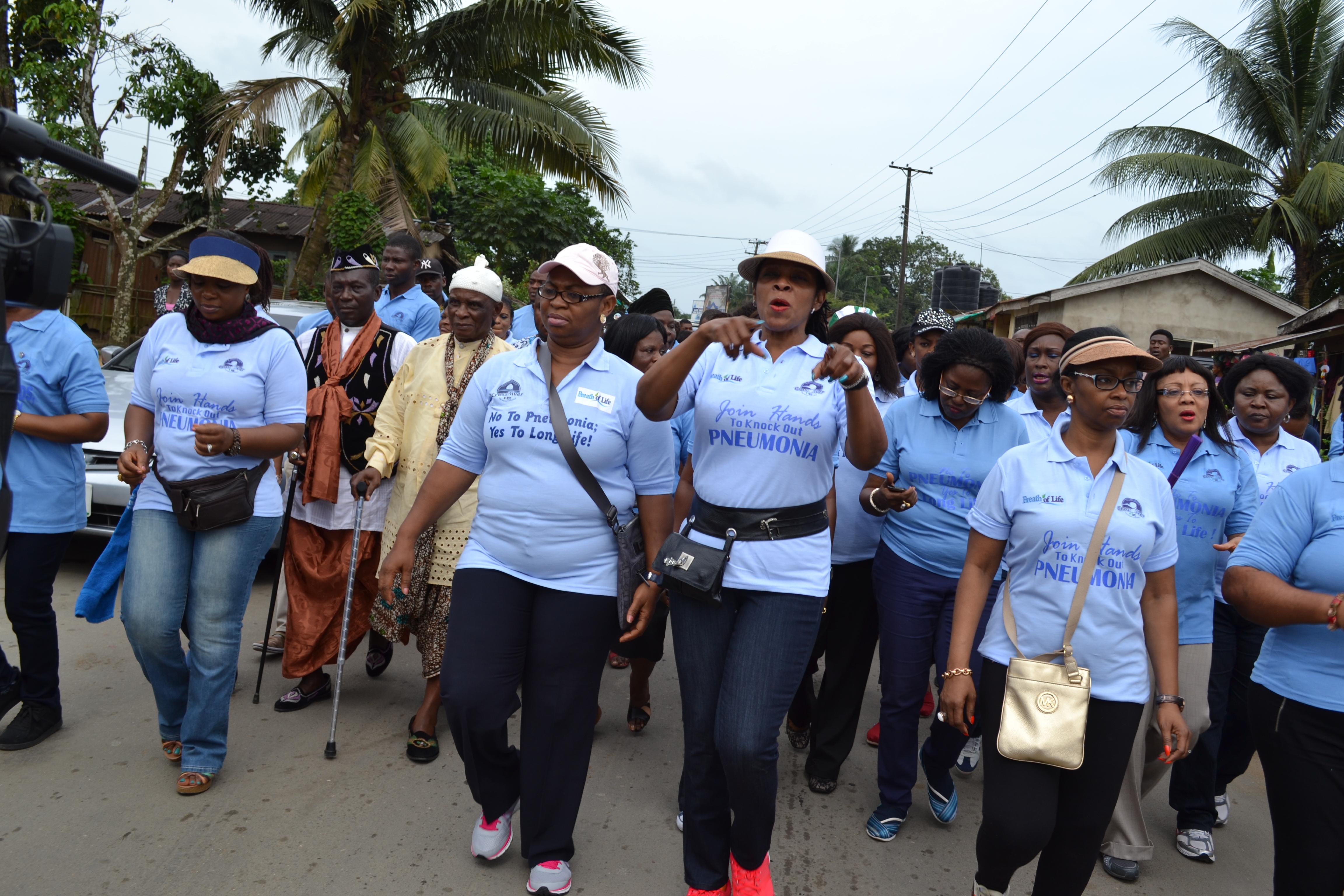 Mrs Imoke Woos Faith-Baseg Groups As Cross River Marks World Pneumonia Day