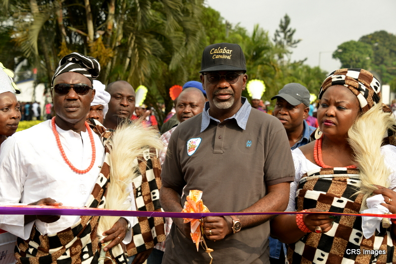 A Collage of the 2013 Calabar Cultural Carnival in Pictures