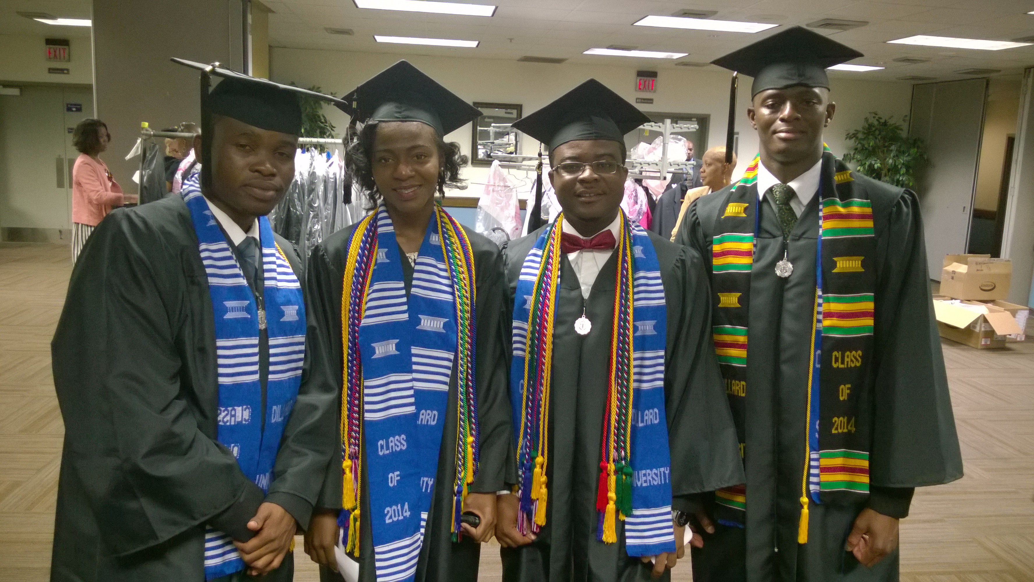 Four Nigerian Whiz Kids Are Best Students At American University