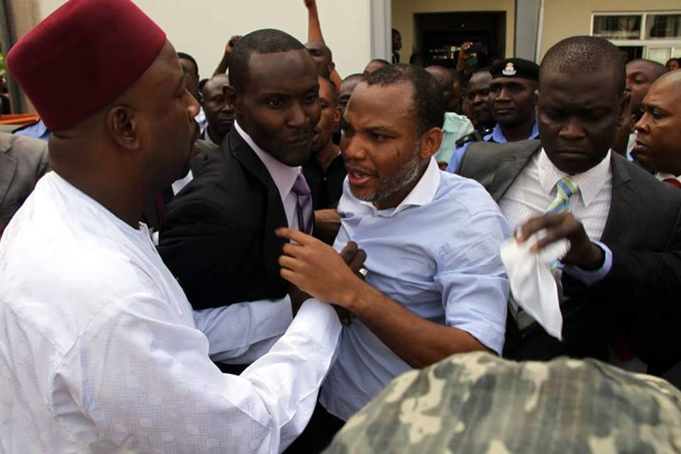 Nnamdi Kanu 'Missing' At Scheduled Court Date As Nigeria's DSS Fails To Produce Him In Court; Case Adjourned