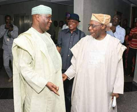 2019: Atiku, Obasanjo Meet For Possible Endorsement