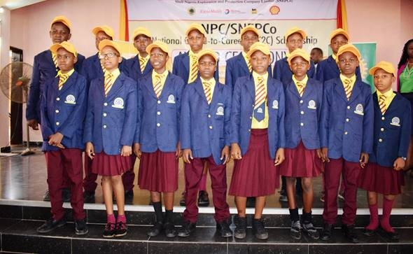 NNPC/SNEPCo Cradle-to-Career Scholarship Beneficiaries Hit 375