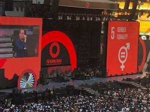 """Le Festival Global Citizen """"Mandela 100"""" réuni un parterre de célébrités et des millions de dollars pour la lutte contre les maladies tropicales négligées"""