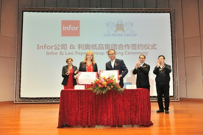 Leo Paper Group selects Infor as Industry 4.0 transformation partner