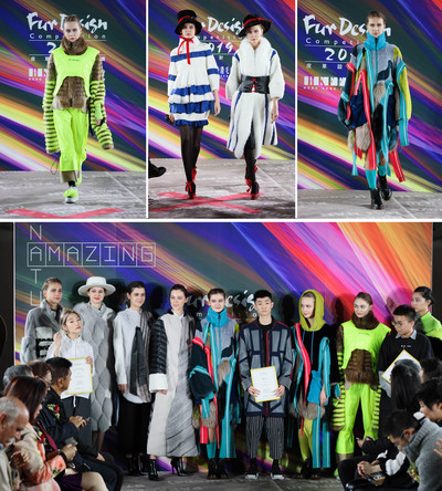 """""""Amazing Nature"""" Hong Kong Fur Design Competition 2019 The Beauty of Nature by Fur Fashion"""