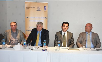 Erbil and Sulaymaniyah International Airports set up their disaster preparedness levels with help from Deutsche Post DHL Group and UNDP