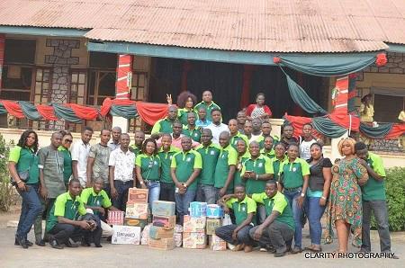 Pega & Friends Foundation donates to Ilaro Prisons