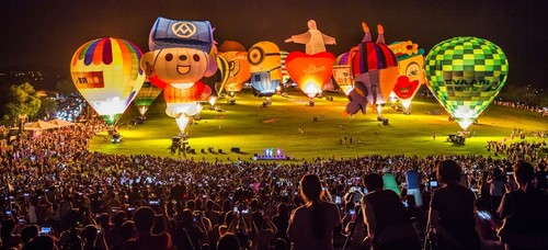 Taiwan International Balloon Festival kicks off at Luye Highlands