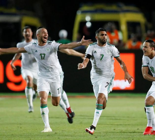 Video: Algeria Beat Senegal 1-0 To lift AFCON Title After 29 years