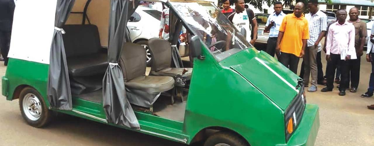 UNN Unveils First Five-seater Electric Car Model