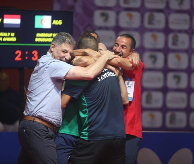 Nigeria, Algeria Halt Egypt's Dominance In Table Tennis Doubles