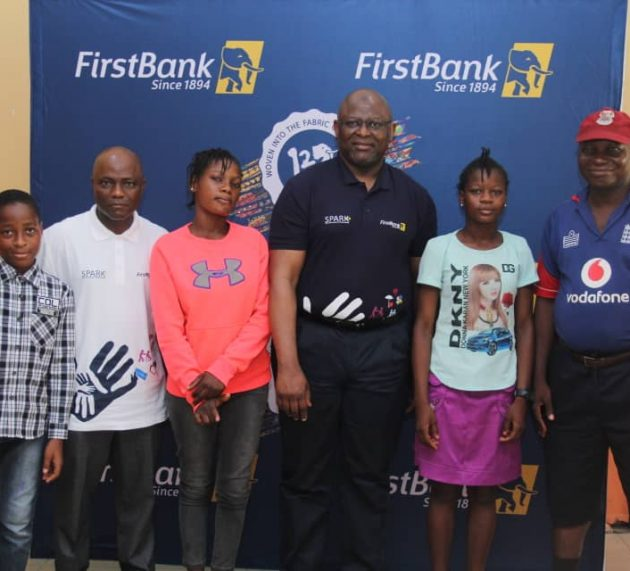 With First Bank's Spark, Joyful Tidings Echo For Less Privileged Children