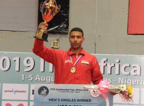 Assar, Meshref Win 2019 ITTF Africa Cup