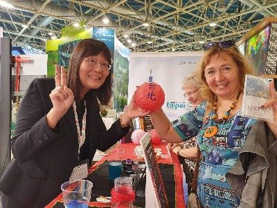 Developing New Blue Sea Market for Tourism;  First-Ever Taipei City Participation in Russia International Travel Fair