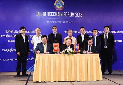 LINA Network Corporation Promotes the Building of the First Blockchain-driven Government in Southeast Asia