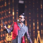 Ranveer Singh accepts Madame Tussauds of the Future Award at star-studded IIFA Awards