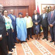 FBNHOLDINGS, FBNBank Ghana Call On President Akufo-Addo