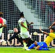 Int'l Friendly: Brazil Force Nigeria to 1-1 Draw in Singapore