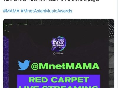 Get ready for 2019 MAMA across the world with Twitter