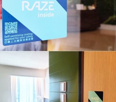 "MADERA GROUP: Hong Kong's First Hospitality Group to adopt  ""RAZE Nano-Photocatalyst"" Technology"