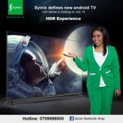 Syinix launches the first android TV in Kenya with Size 8 Reborn