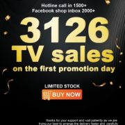 Syinix Sold 3126 Units of Android TV on First Day of Launch