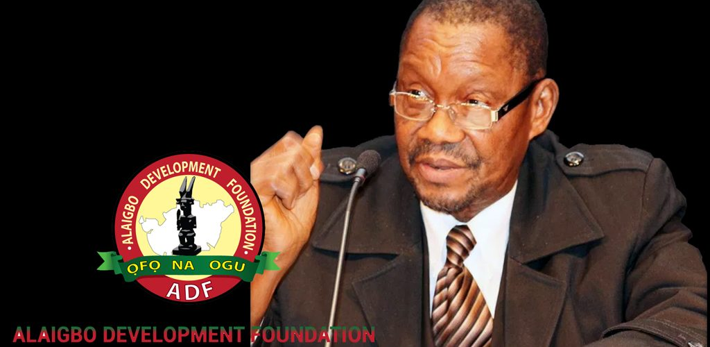 Alaigbo Development Foundation Cautions Against Setting Definite Timeline For Restoration Of Biafra