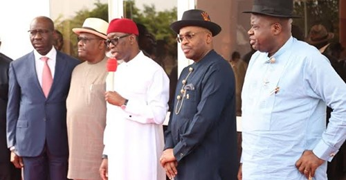 Snubbed Inspite Of Scheduled Dialogue, South-South Governors, Leaders Meet In Port Harcourt, Demand Apology From Presidency