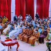 Buhari Meets With Freed Kankara Schoolboys