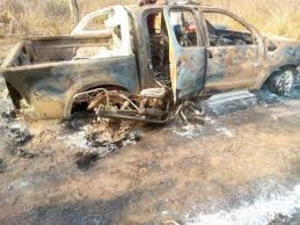 Four Arrested Over Burning Of Amotekun's Operational Vehicle, Setting Village Ablaze In Ondo